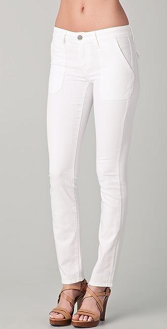 Vince Denim Patch Pocket Slim Jeans