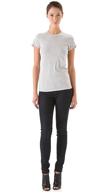 Vince Denim 5 Pocket Skinny Jeans