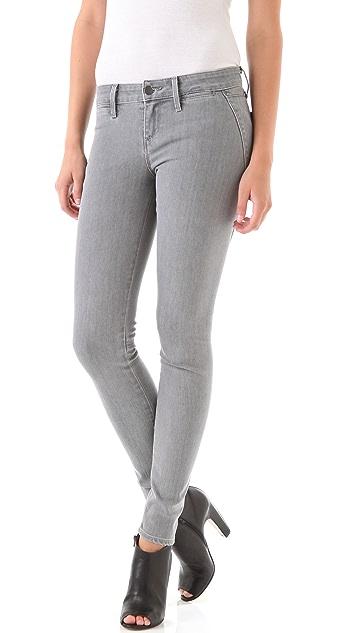 Vince Denim Seamed Skinny Jeans