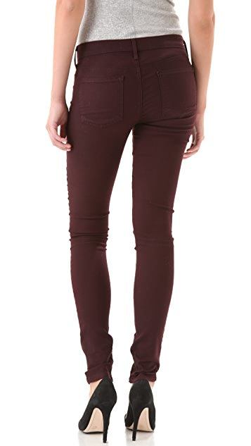 Vince Denim Zip Legging Jeans