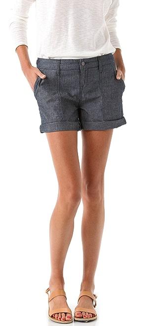 Vince Denim Cargo Shorts