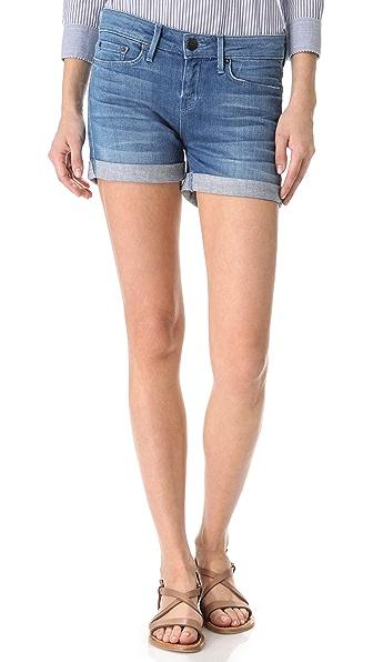 Vince Denim Cuffed Shorts