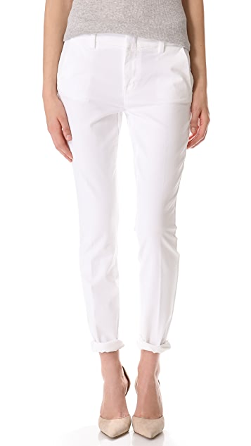 Vince Denim Creased Chino Pants