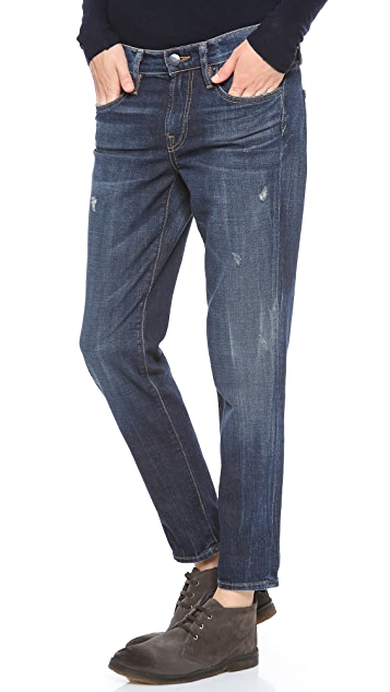 Vince Denim Relaxed Rolled Jeans