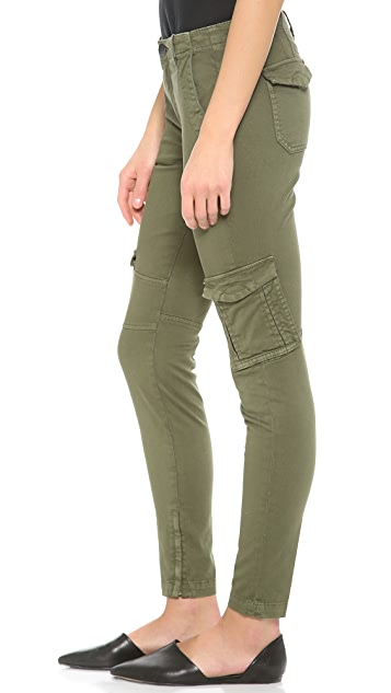 Vince Denim Military Cargo Pants