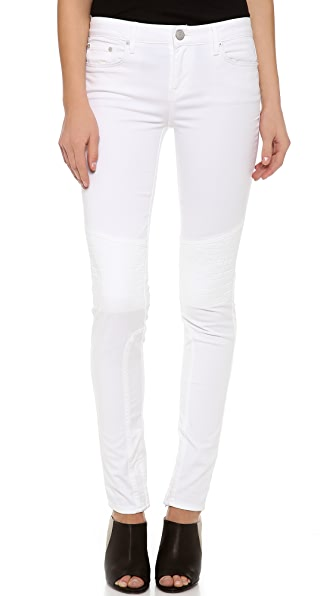 Vince Denim Dylan Skinny Moto Jeans