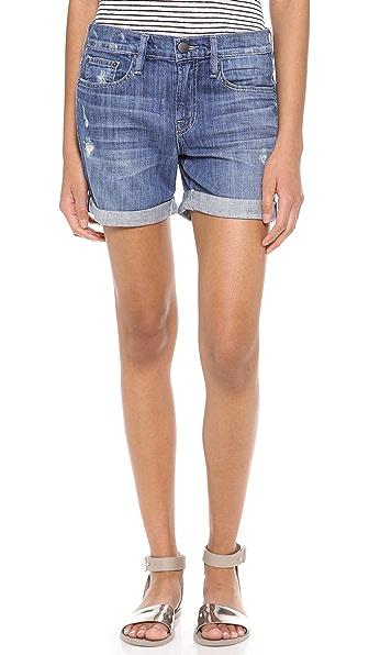 Vince Denim Mason Relaxed Rolled Shorts | SHOPBOP