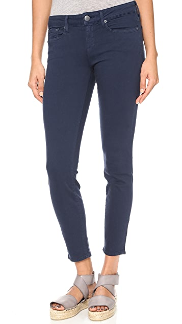 Vince Denim Cropped Skinny Jeans