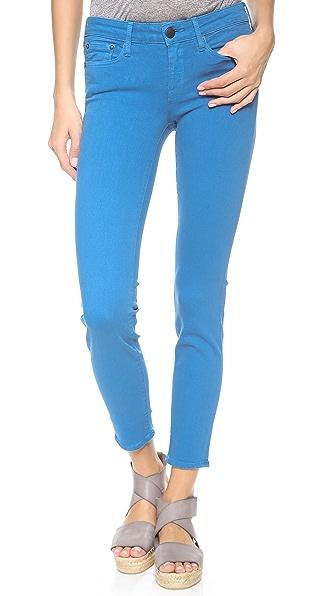 Vince Denim Cropped Skinny Jeans
