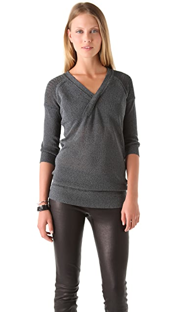 VPL Sustentation Open Back Sweater