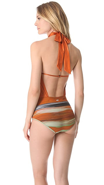 VPL Print Neo Harness One Piece Swimsuit