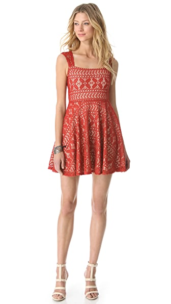 Viva Vena! by Vena Cava Claire Square Neck Dress