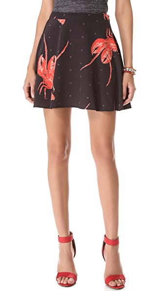 Viva Vena! by Vena Cava Short Circle Skirt