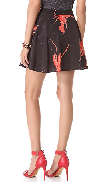 Viva Vena! by Vena Cava Short Circle Skirt