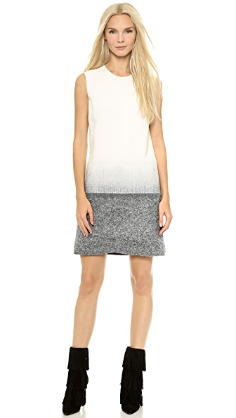 Victoria Victoria Beckham Needle Punch Shift Dress