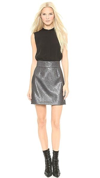 Victoria Victoria Beckham Sleeveless Button Up Dress