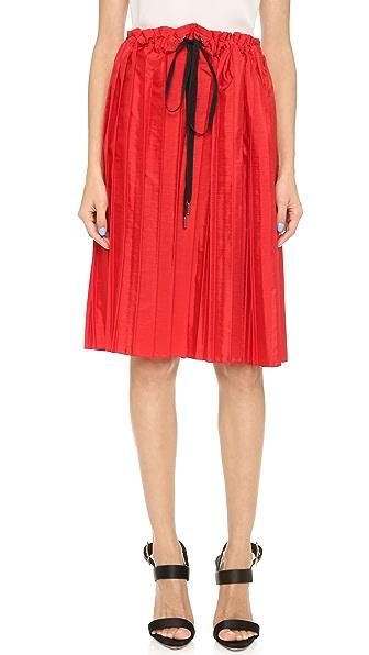 Victoria Victoria Beckham Drawstring Skirt