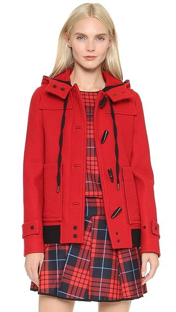 Victoria Victoria Beckham Cropped Duffle Coat