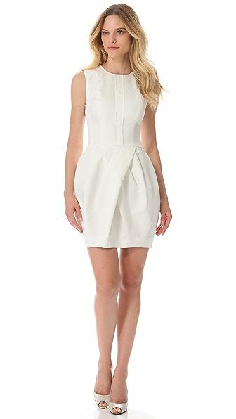 Vera Wang Collection Sleeveless Corseted Dress