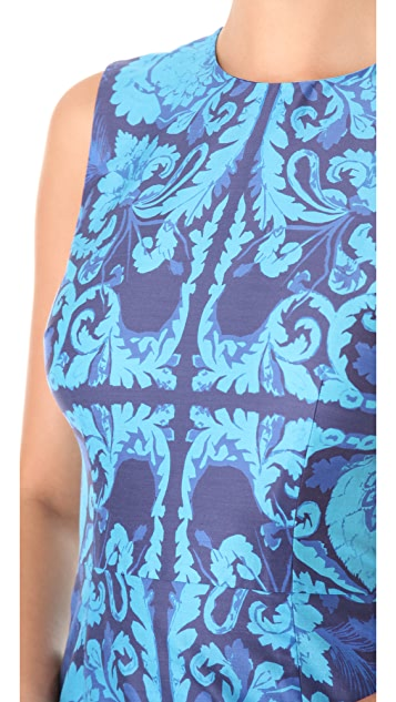 Vera Wang Collection Sleeveless Sheath Top