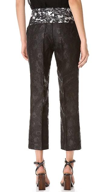Vera Wang Collection Straight Pants
