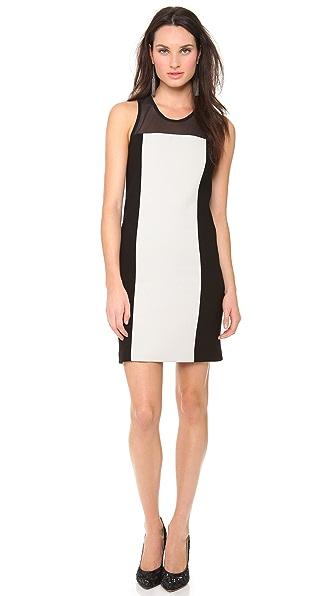 Vera Wang Collection Sleeveless Wool Dress