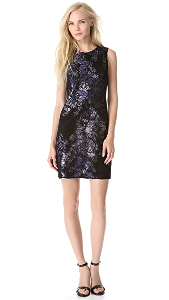 Vera Wang Collection Sleeveless Chantilly Dress