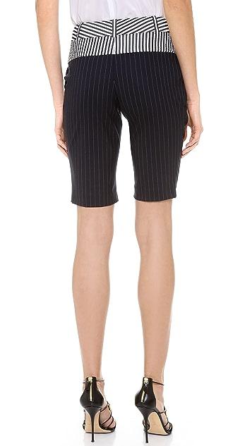 Vera Wang Collection Bermuda Shorts