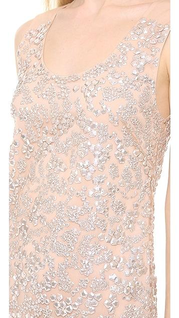 Vera Wang Collection Sequin Shift Dress