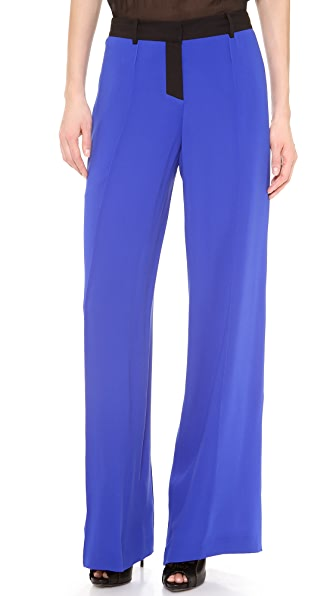 Vera Wang Collection Crepe Palazzo Pant