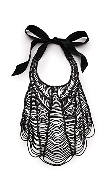 Vera Wang Collection Black Necklace