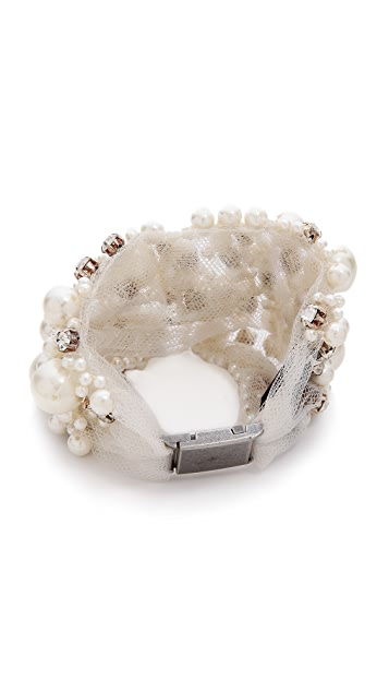 Vera Wang Collection Imitation Pearl Bracelet
