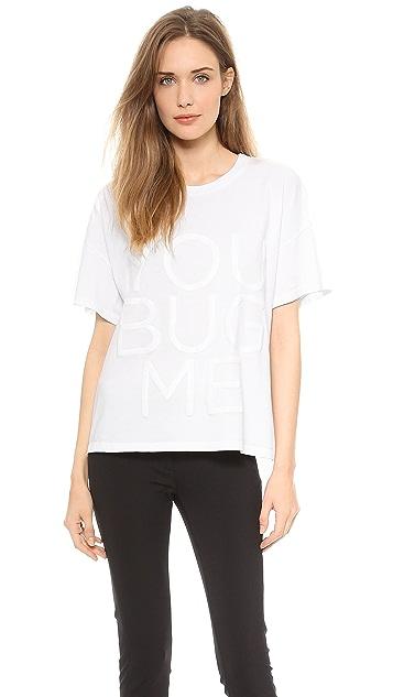 Vera Wang Collection You Bug Me T-Shirt