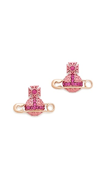 Vivienne Westwood Safety Pin Earrings