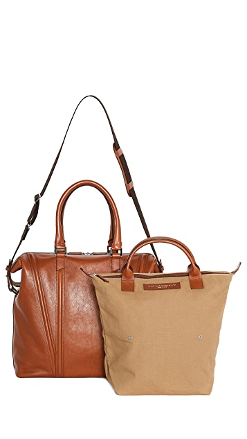 WANT LES ESSENTIELS Charleroi 48HR Getaway Bag with Roll Tote