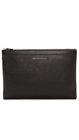 WANT LES ESSENTIELS Barajas A4 Pouch