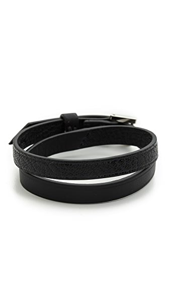 WANT LES ESSENTIELS Vantaa Tone Buckle Bracelet