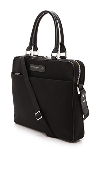 WANT LES ESSENTIELS Haneda Slim Briefcase