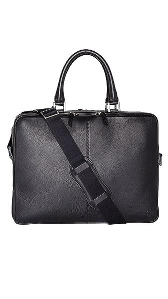 WANT LES ESSENTIELS Trudeau Leather Briefcase