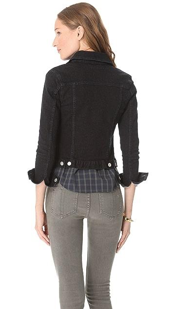 Washborn Stretch Denim Jacket