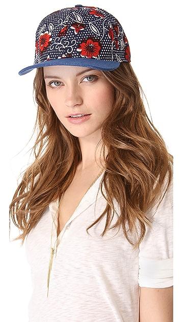 Wax + Cruz Bandana Baseball Hat