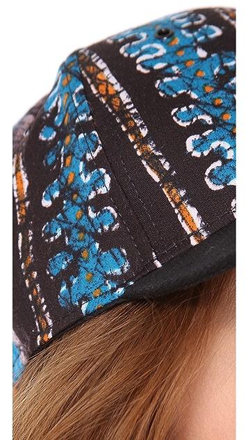 Wax + Cruz Batik Baseball Hat