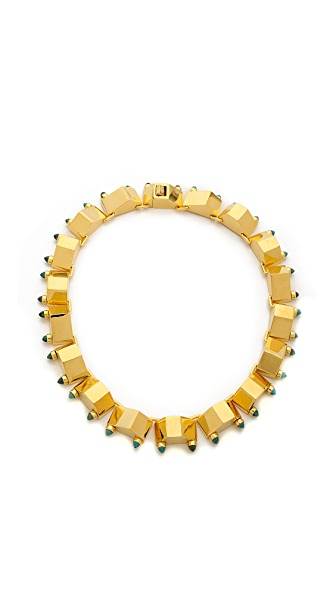 W. BRITT Big Block Necklace
