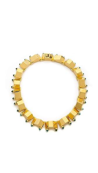 W. BRITT Big Block Necklace
