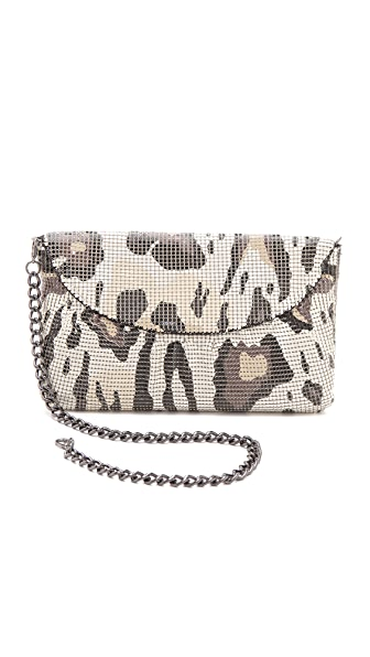 Whiting & Davis Gattopardo Clutch