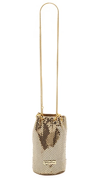 Whiting & Davis Chain Mail Bucket Bag