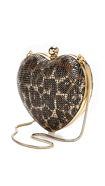 Whiting & Davis Heart Clutch