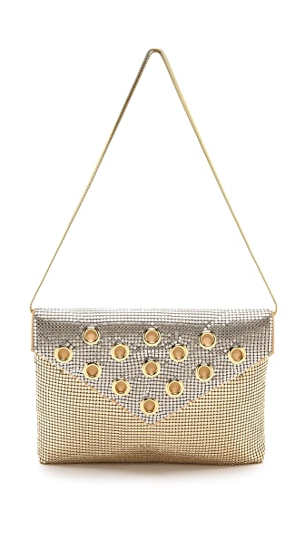 Whiting & Davis Grommet Clutch