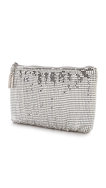 Whiting & Davis Shirred Clutch