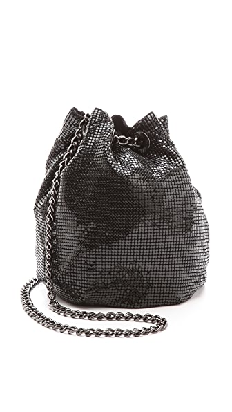 Whiting & Davis Soft Metal Bucket Bag